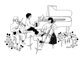 ピアノトリオ